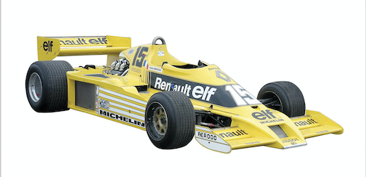 Renault F1 RS01 1977 photo 4