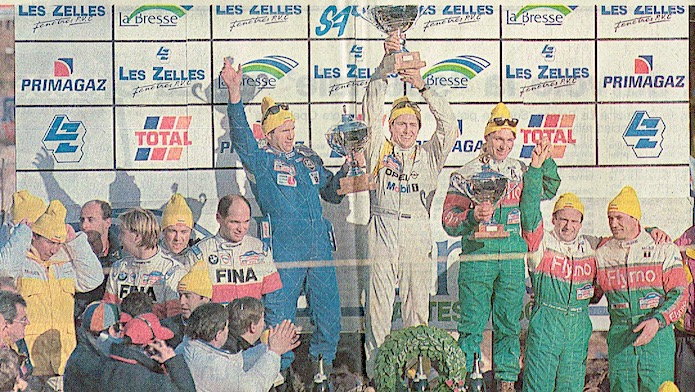 Andros La Bresse 1994 Chatriot podium